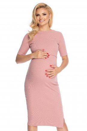 Tehotenské šaty klasického strihu (6)