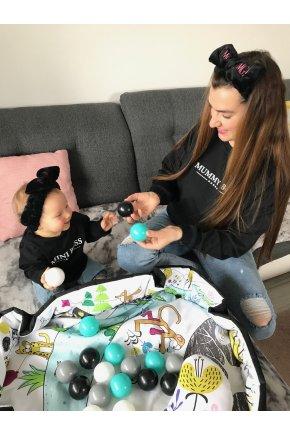 Mikina mummy boss pre mamu a dieťa