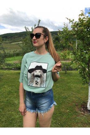 Tričko Madame mäta