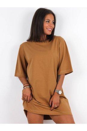 Basic oversize tričkové šaty