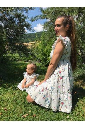 Šaty Ella pre mamu a dcéru