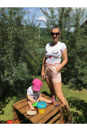 Tričko Lips pre mamu a dcéru