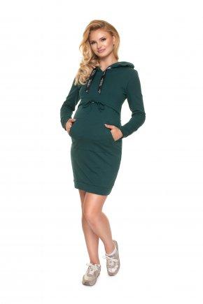 Tehotenské mikinové šaty Zara (4)