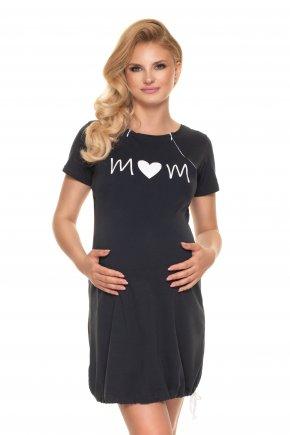 Tehotenská nočná košeľa Mom (2)