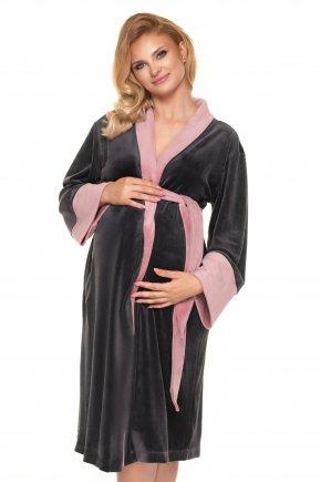 Tehotenský velúrový župan (3)