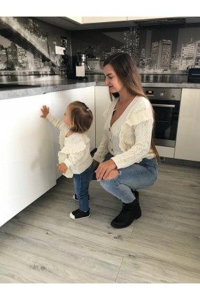 Sveter Julietta pre mamu a dcéru