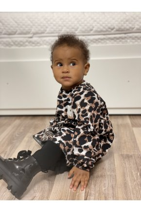 Šaty Leopard pre dievčatko
