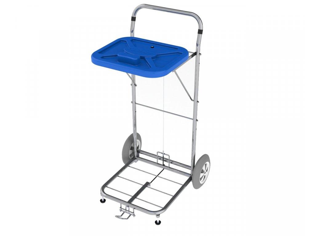 Vozík na prádlo Vako 80D/N nožní ovládání