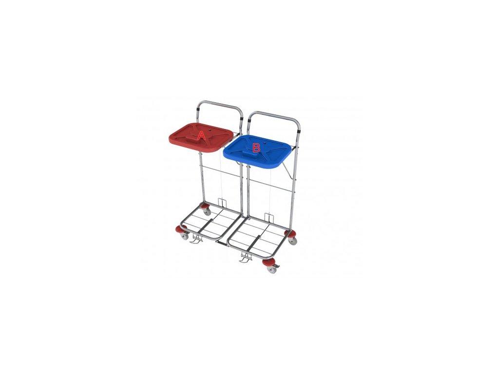 vozík na prádlo a odpad vako 80c2n nožní ovládání