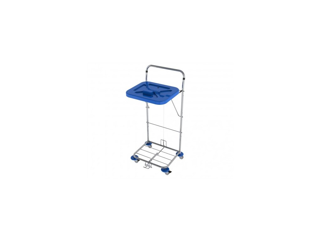 vozík na přepravu prádla a odpadu Vako 120c nožní ovládání