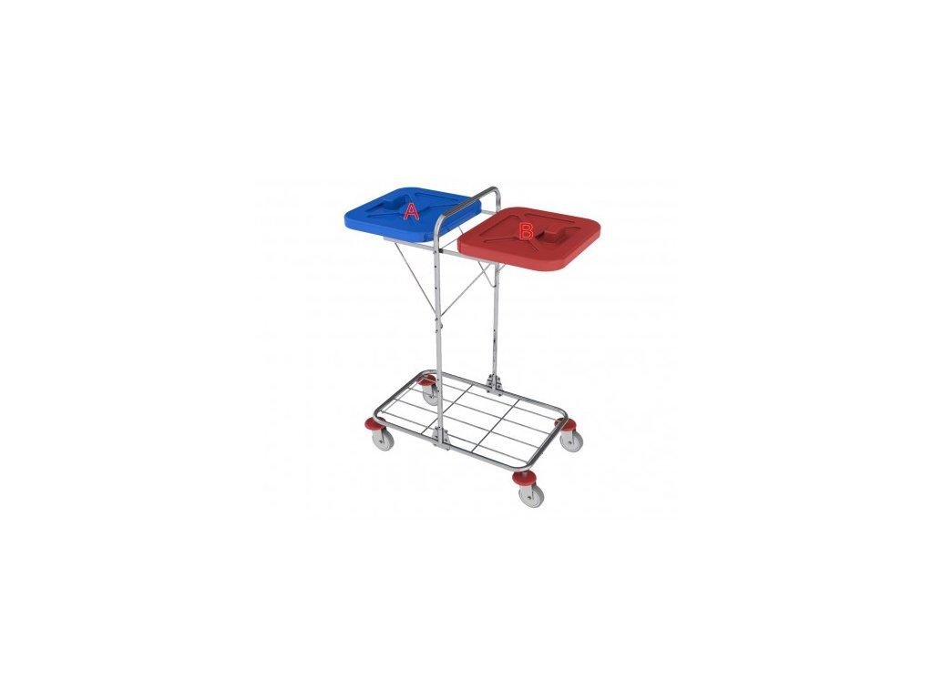vozík na prádlo a odpad vako 120g ruční ovládání