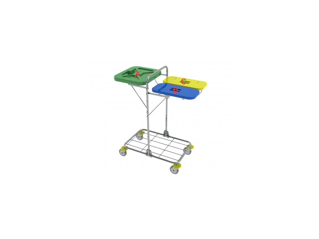 vozík na přepravu prádla a odpadu vako 120I