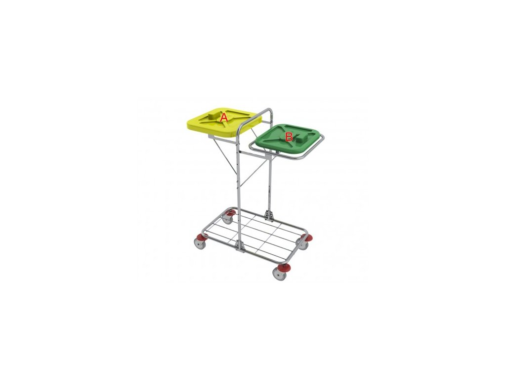vozík na přepravu prádla vako 120o