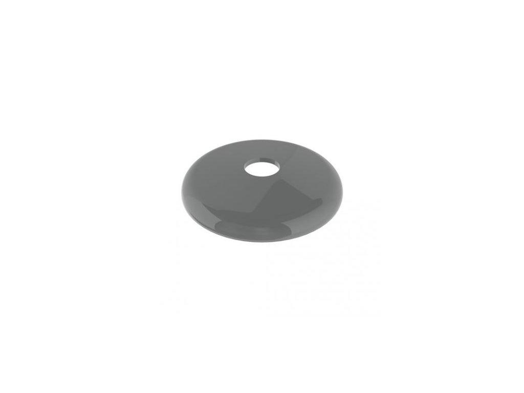 plastový nárazník šedý