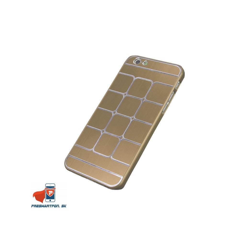 iPhone 6 6s hlinikovy zadny kryt zlata
