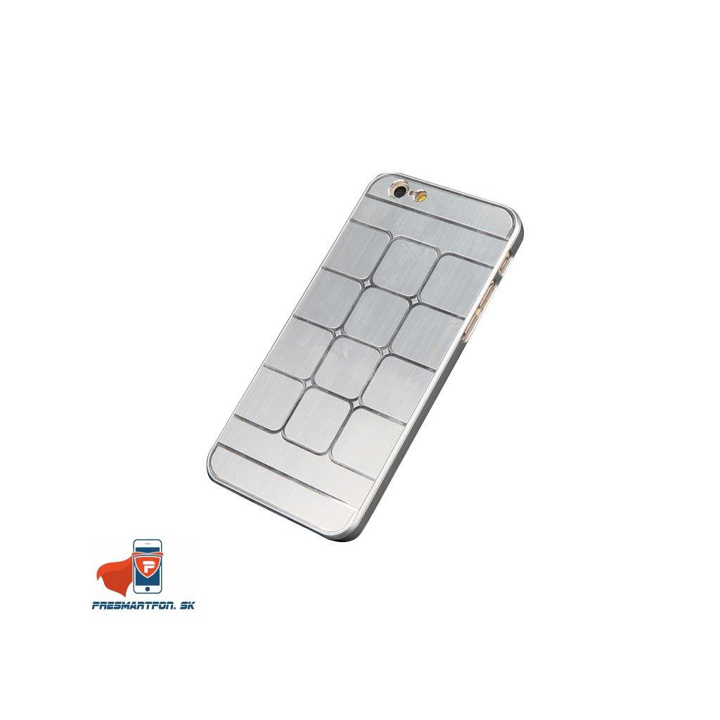 iPhone 6 6s hlinikovy zadny kryt strieborna