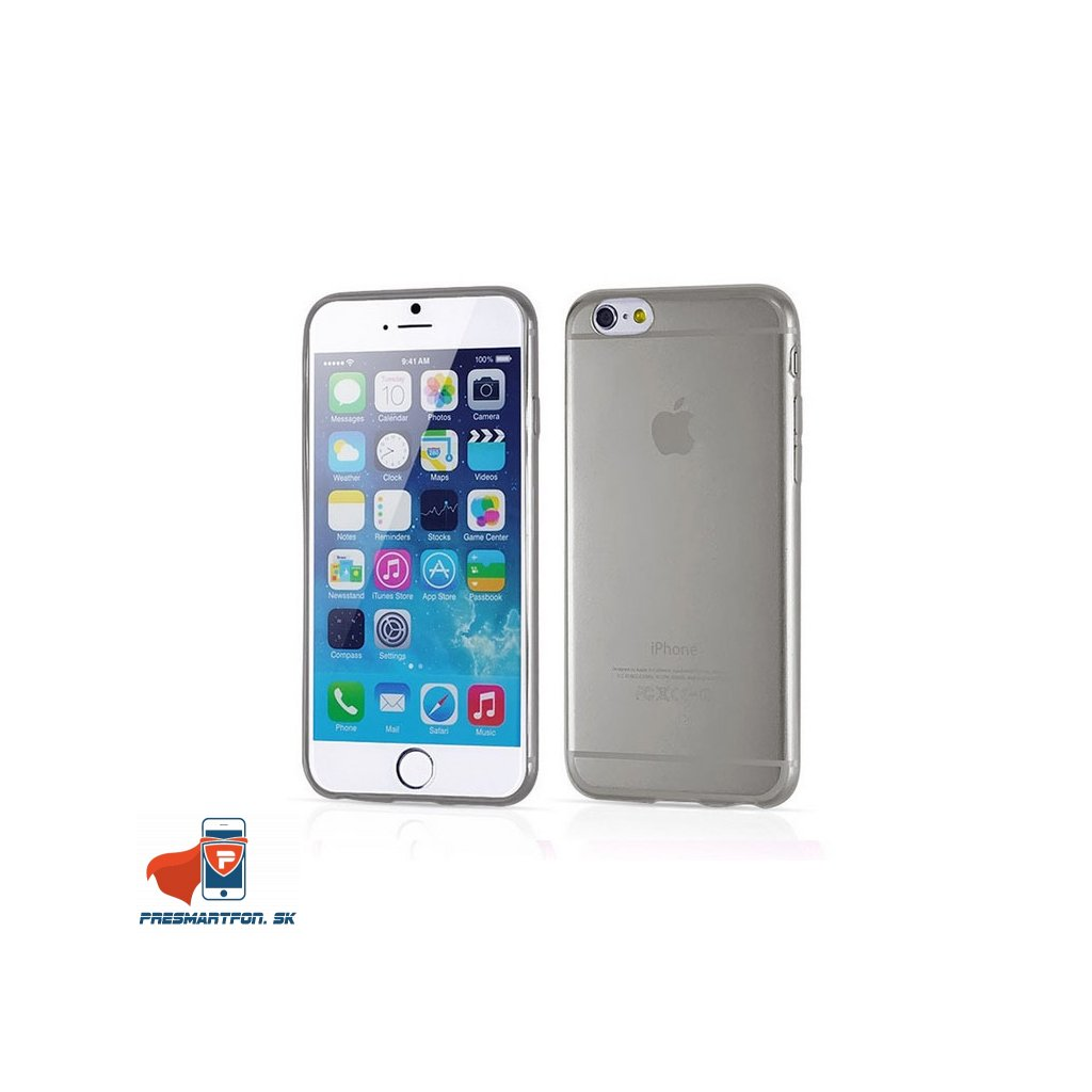iPhone 6 s priehladny silikonovy kryt 02