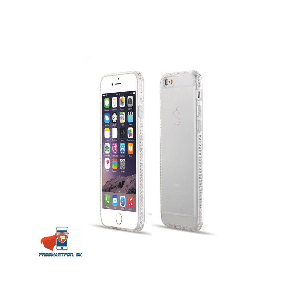 iPhone 6 priehladny silikonovy kryt ozdobny cisty 01
