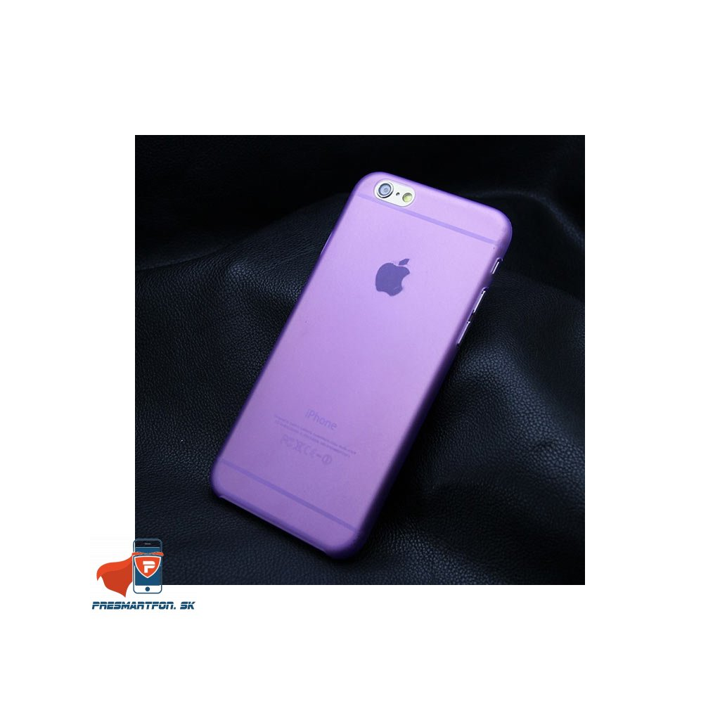 iPhone 5 5S 5SE plastovy kryt fialovy