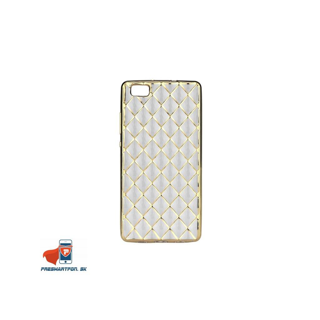 huawei p9 lite luxury gel zlaty 1