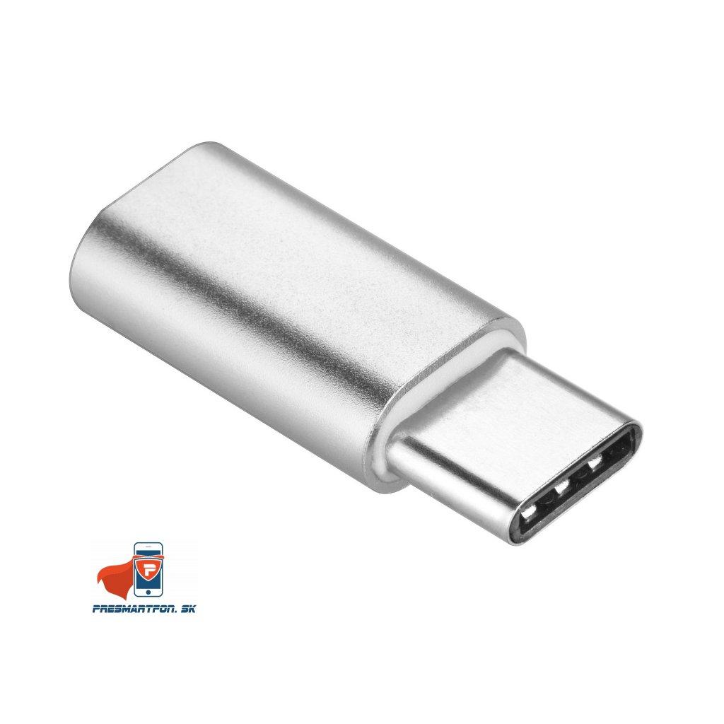 14582 1 adapter micro usb usb c cierny
