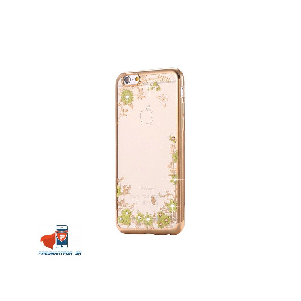 iPhone 7 silikonovy luxusny kryt zlato zlty
