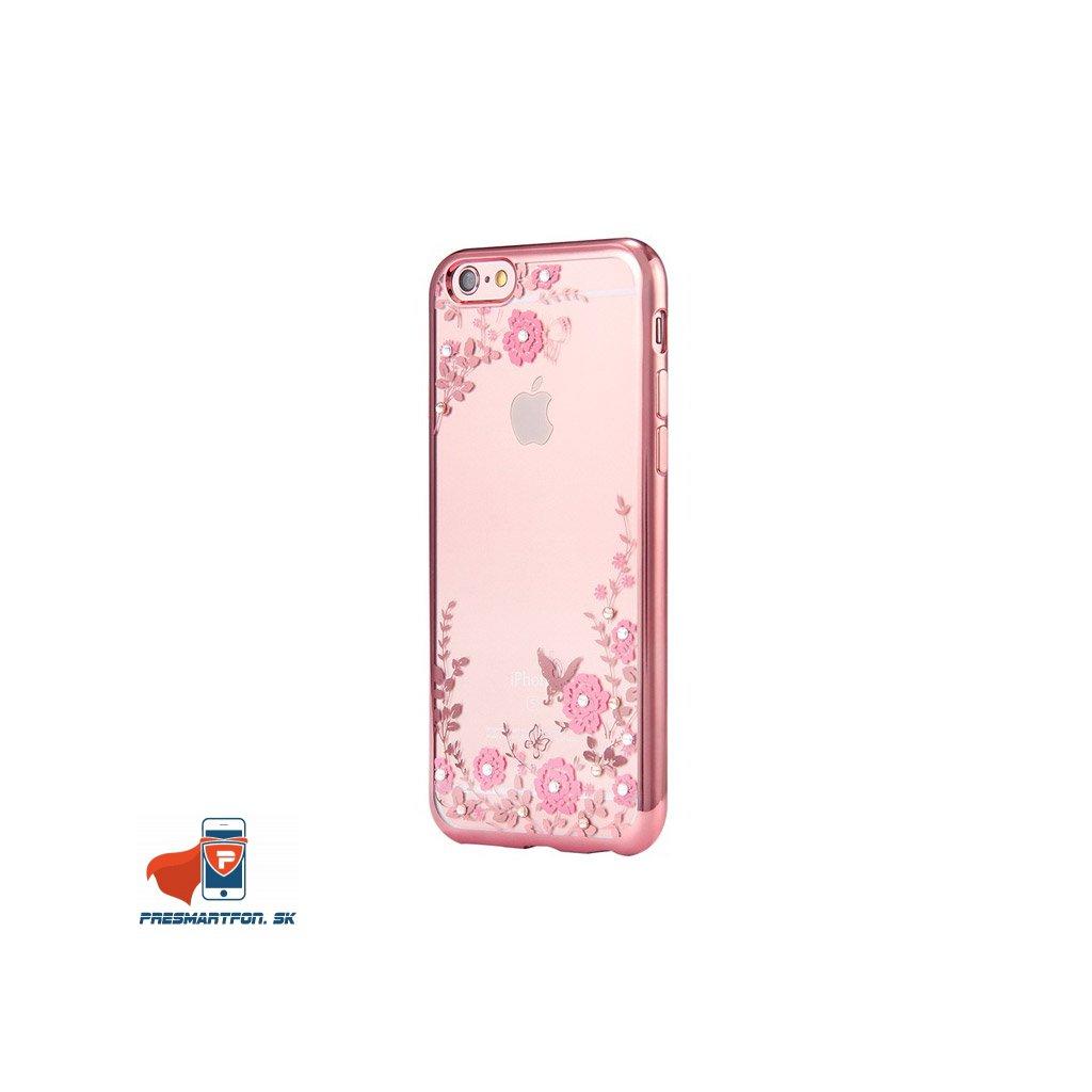 iPhone 7 silikonovy luxusny kryt ruzovo ruzovy