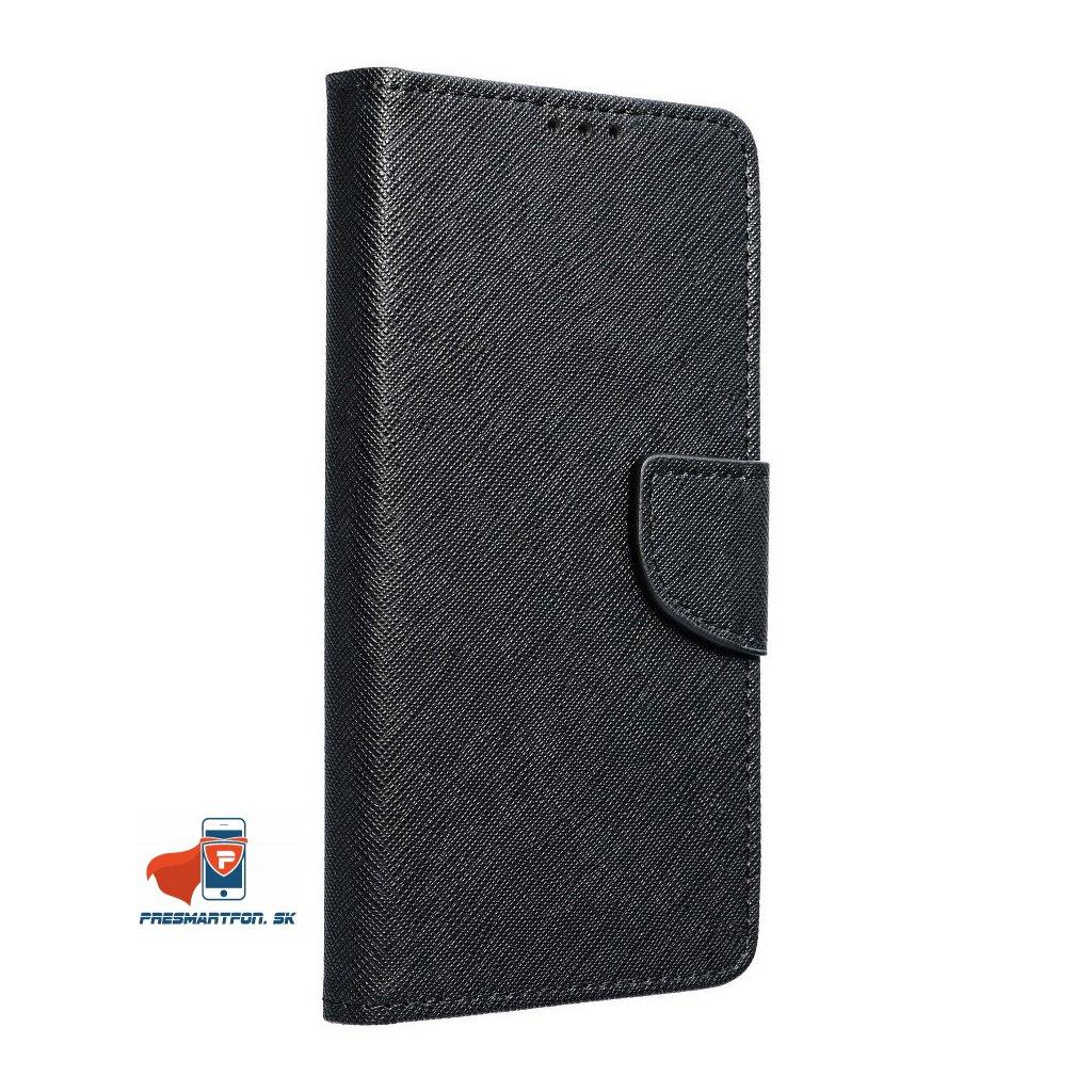 """iPhone 7 / 8 / SE 2020 (4,7"""") BOOK PÚZDRO FANCY, čierne + ochranné sklo ZADARMO"""