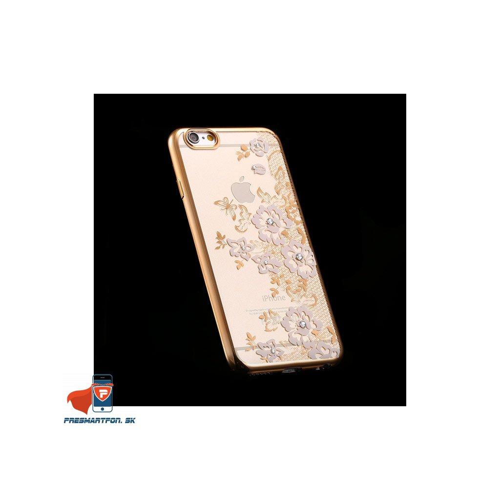iPhone 6 6S silikonovy luxusny kryt biely 2 2