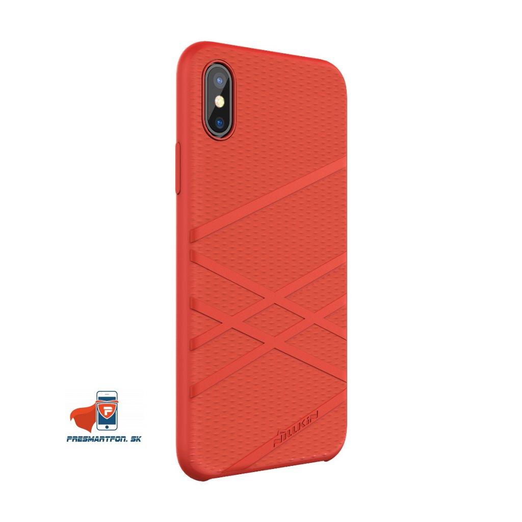 01 flex silikonový kryt pre iphone x cerveny