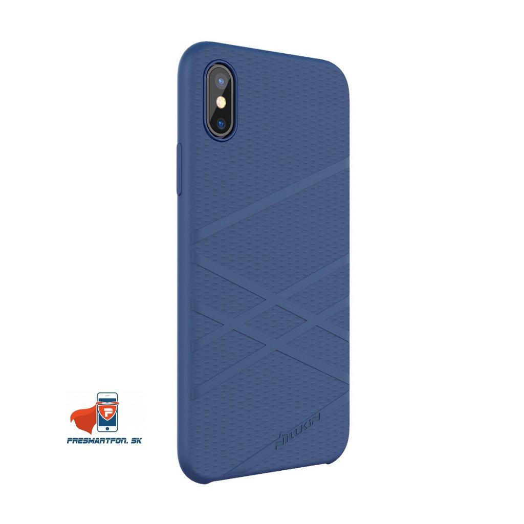 01 flex silikonový kryt pre iphone x modry