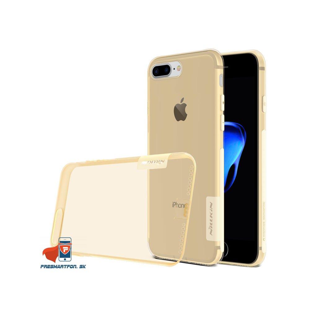 TPU nature obal iphone 8 plus zlaty 5