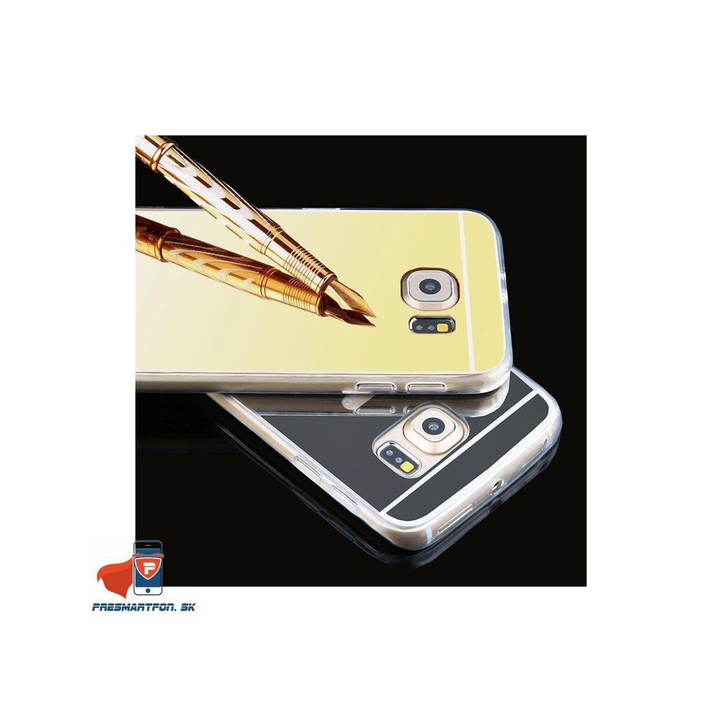 Samsung S7 Edge silikonovy zrkadlovy kryt 1