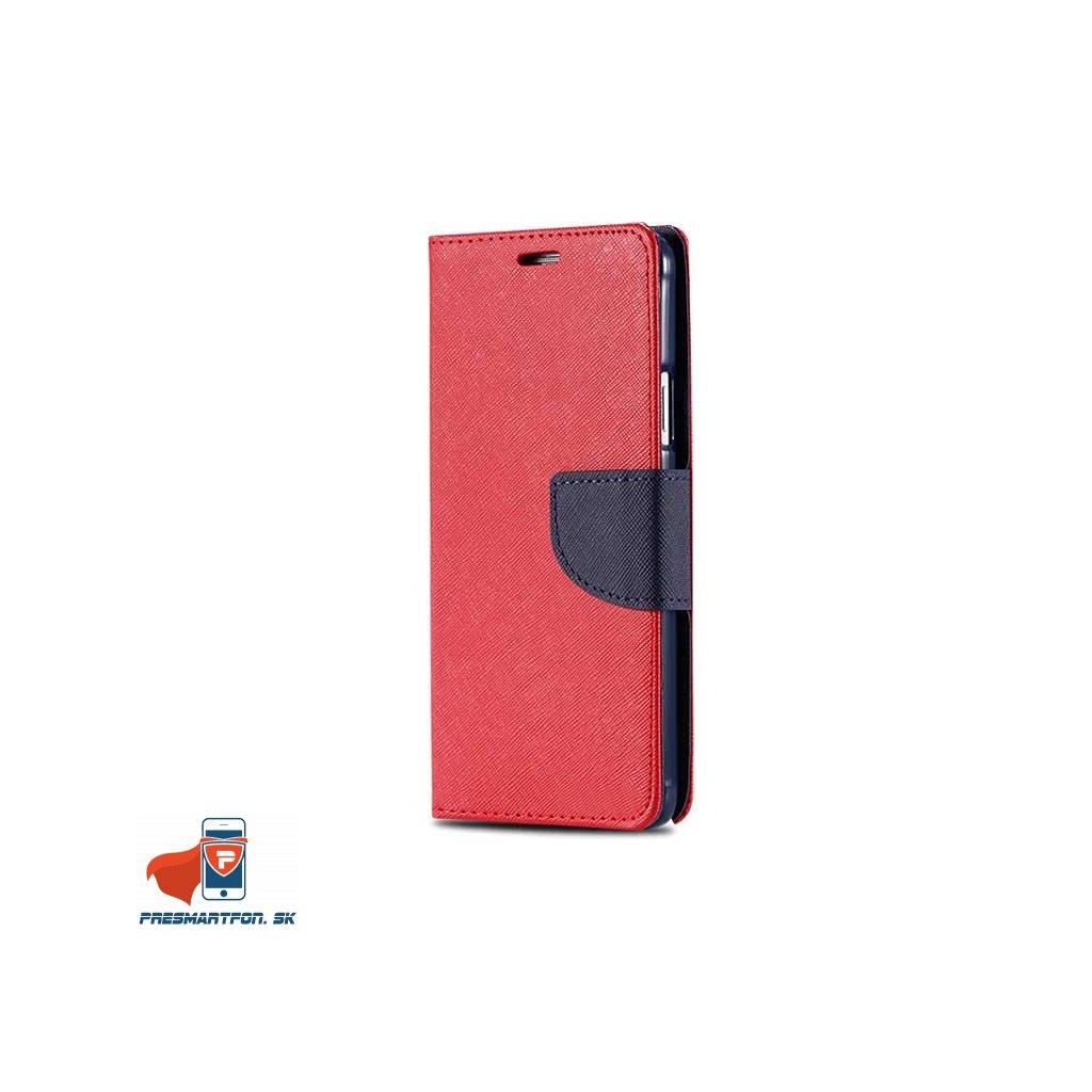 samsung A5 2016 A510 knizkove magneticke puzdro cerveno modra 1