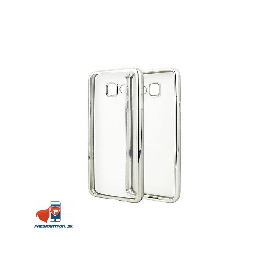 Samsung galaxy A310 2016 silikonovy luxusny kryt priehladny strieborny 1