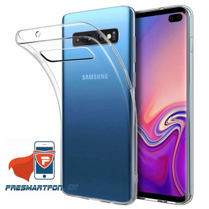 mobiletch GalaxyS10 plus silicon clear 1