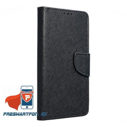 Iphone X / XS púzdro púzdro BOOK FANCY, čierne+ ochranné sklo ZADARMO