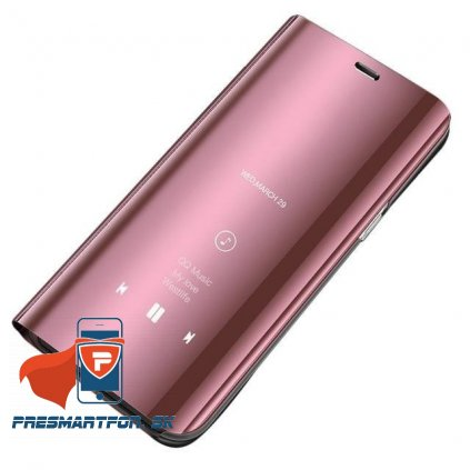 S20 clear view pink