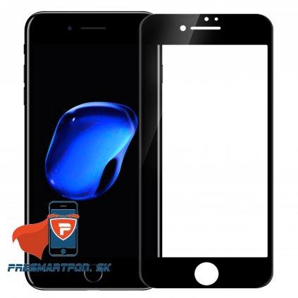 tvrdene 3D sklo AP iphone 7 plus cierne