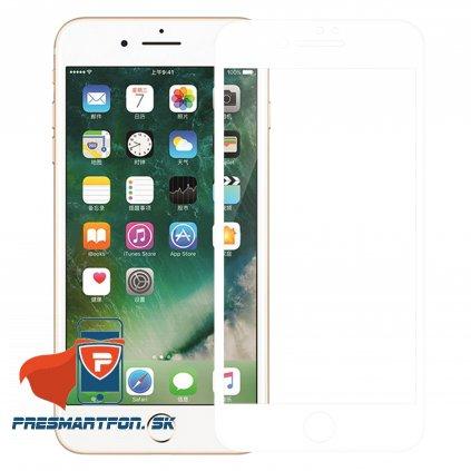 tvrdene 3D sklo AP iphone 7 plus biele