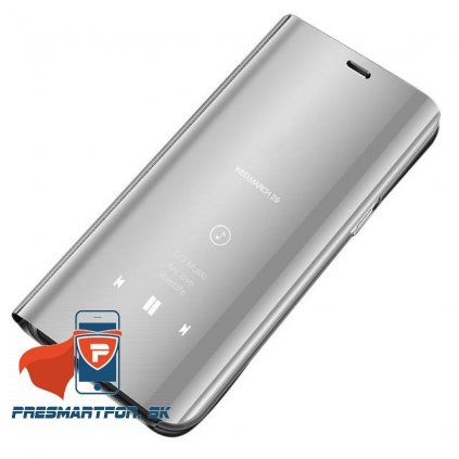 eng pl Clear View Case cover for Samsung Galaxy S10 silver 48426 1