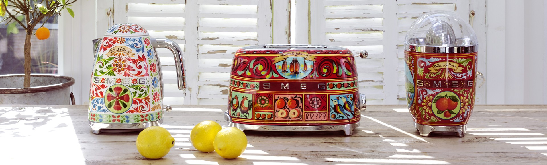 SMEG AND DOLCE&GABBANA