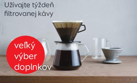 Doplnky na prípravu filtrovanej kávy
