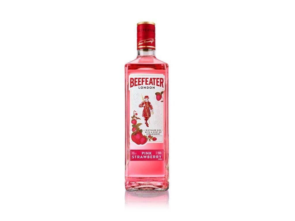 Beefeater Pink Strawberry   jahodový gin nová lahev