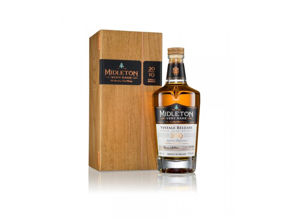 Midleton Very Rare Vintage Release 2019 Bottle & SBC White 700ml