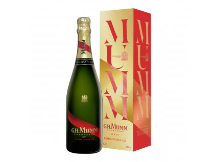 02 Mumm Cordon Rouge 2018 750ml+box Mid