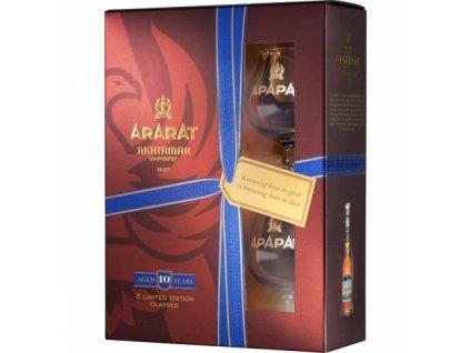 Ararat 10yo + skleničky