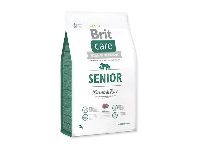 BRIT Care Senior Lamb & Rice 3kg BCH