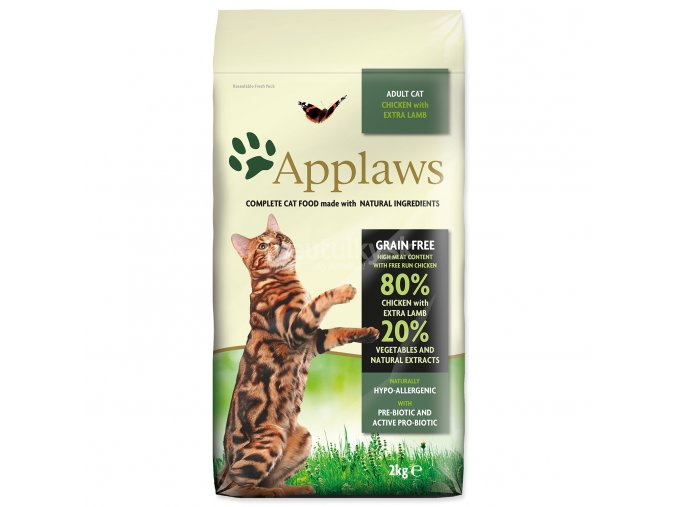 APPLAWS Dry Cat Chicken with Lamb (2 kg)