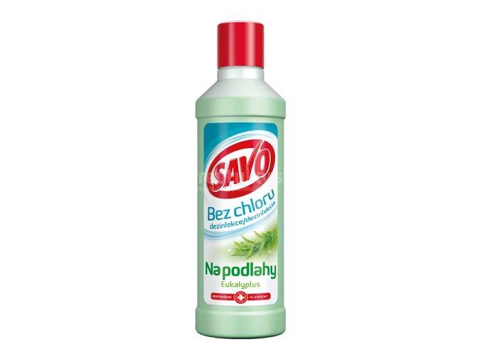 Savo na podlahy bez chlóru 1l eukalyptus PL